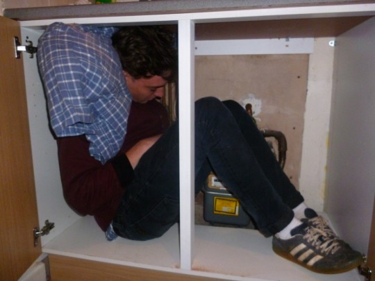 Perhaps we could squash some students into storage cupboards if all else fails