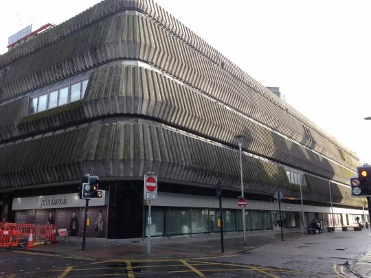 John Lewis: Bringing Brutalism back