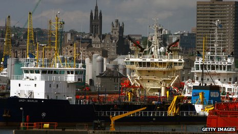 Aberdeen's booming oil industry doesn't seem to be slowing down anytime soon.