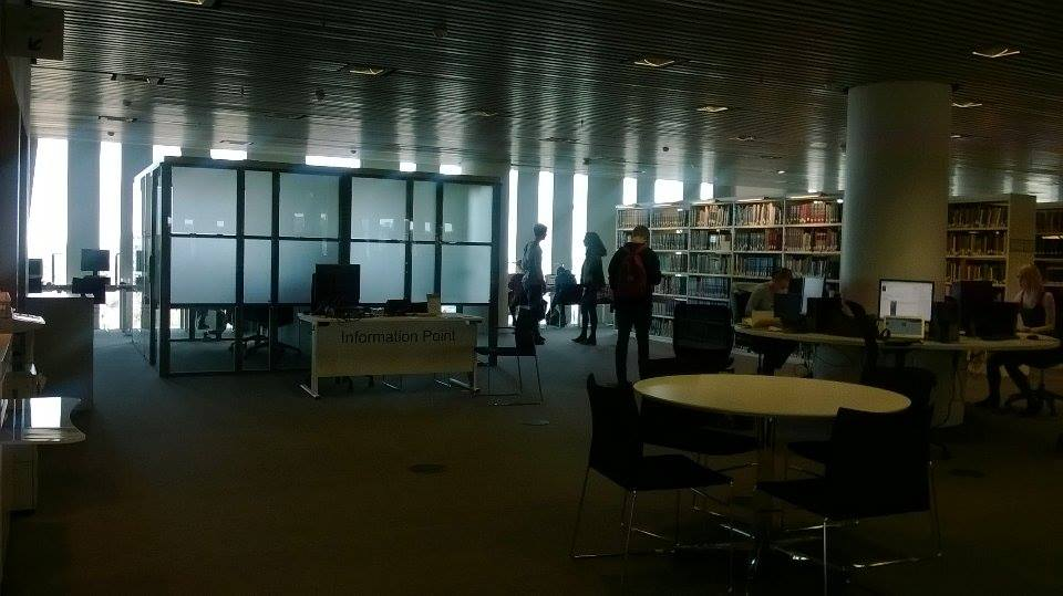 1 - The facilities of the library facilitate your faculty of learning