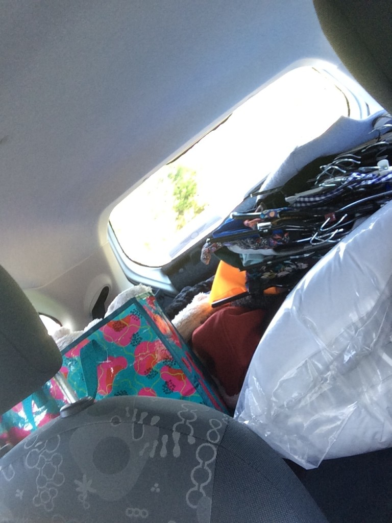 My car move-in weekend