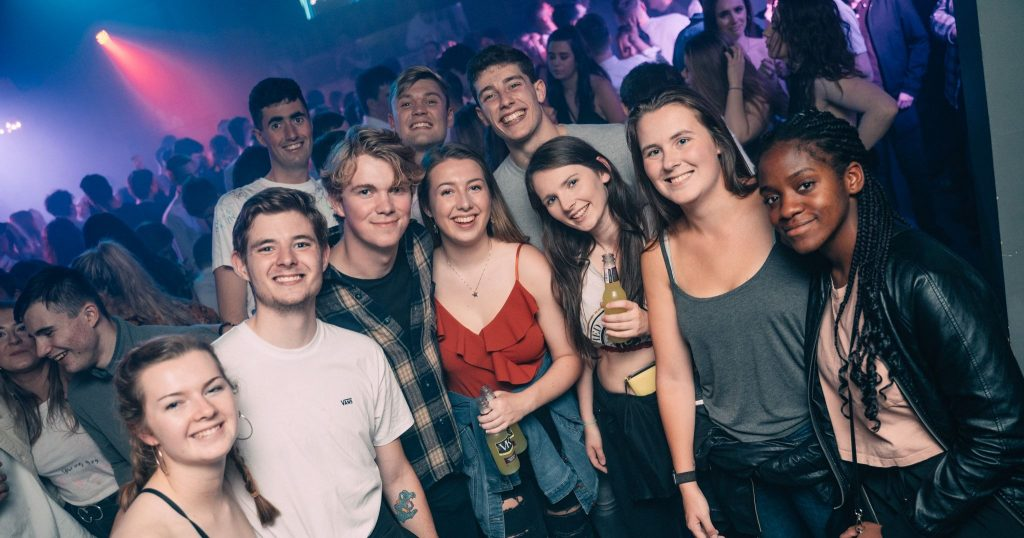 Image may contain: Disco, Night Life, Night Club, Club, Person, Human, Party