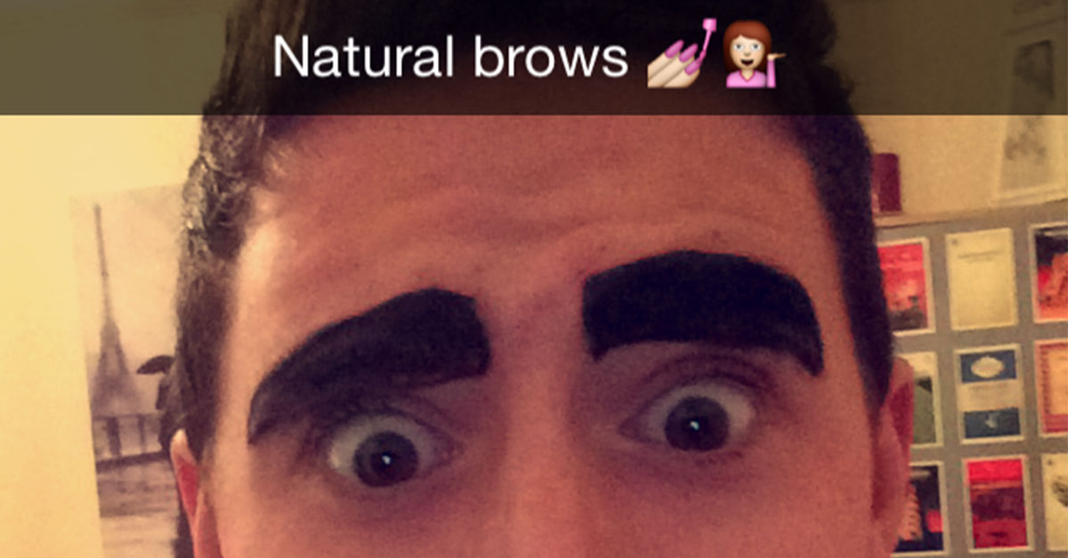 Men Stop Drawing On Your Eyebrows