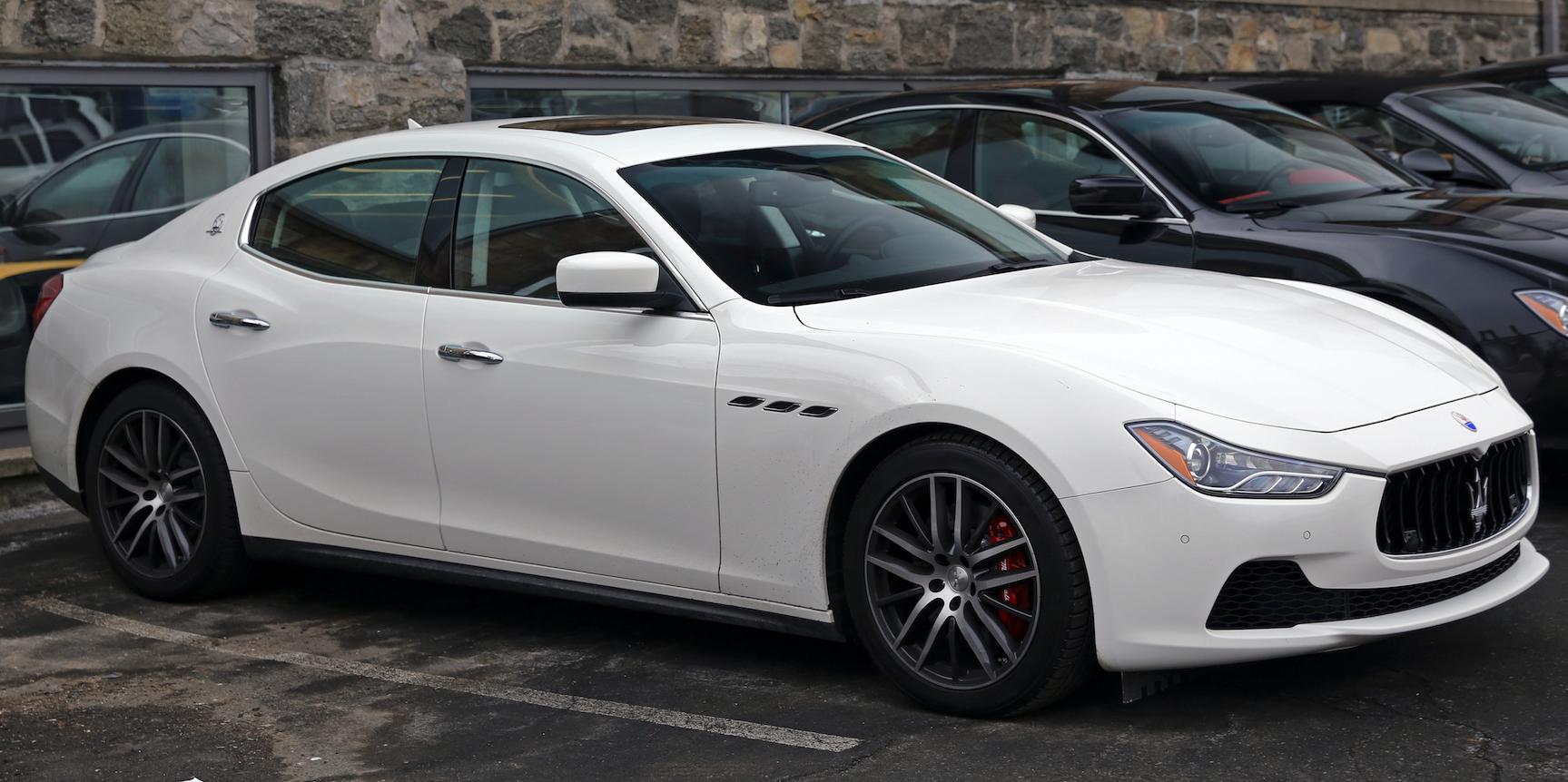 Li's parents bought him a Maserati like this