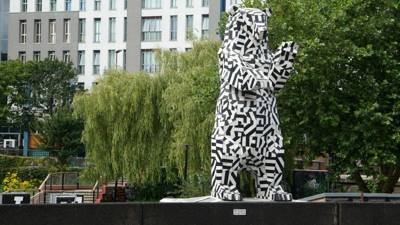 Image may contain: Urban, Wildlife, Mammal, Giraffe, Animal