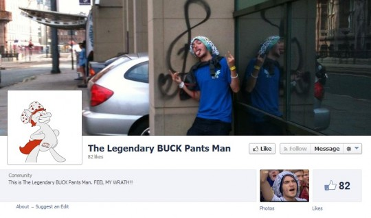 Pantspone Brony even has his own FB page