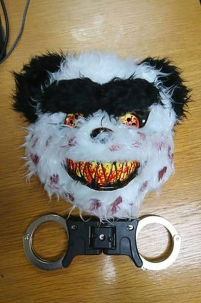 Police set dogs on 'killer clowns' in Belfast