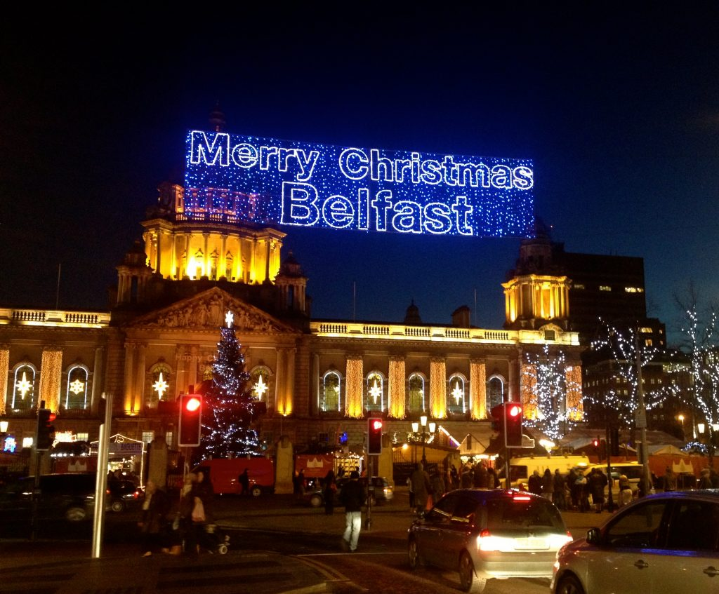 Isn't City Council putting up a 'Merry Christmas Belfast' sign a little like writing yourself a card?