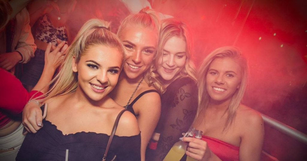 Image may contain: Party, Night Life, Night Club, Club, Person, People, Human