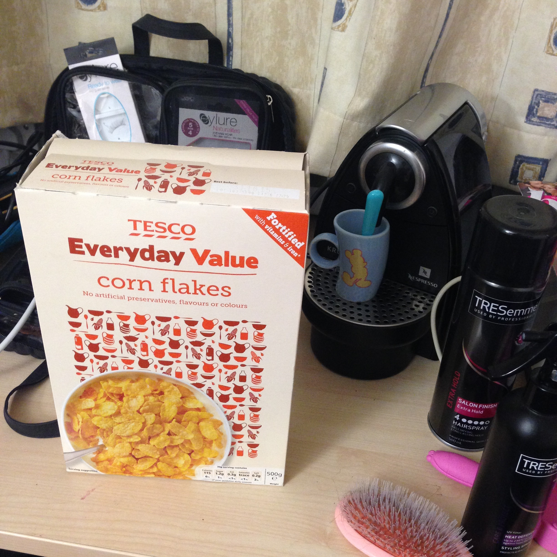 even tesco value isn't safe. (so the nespresso machine definitely isn't)