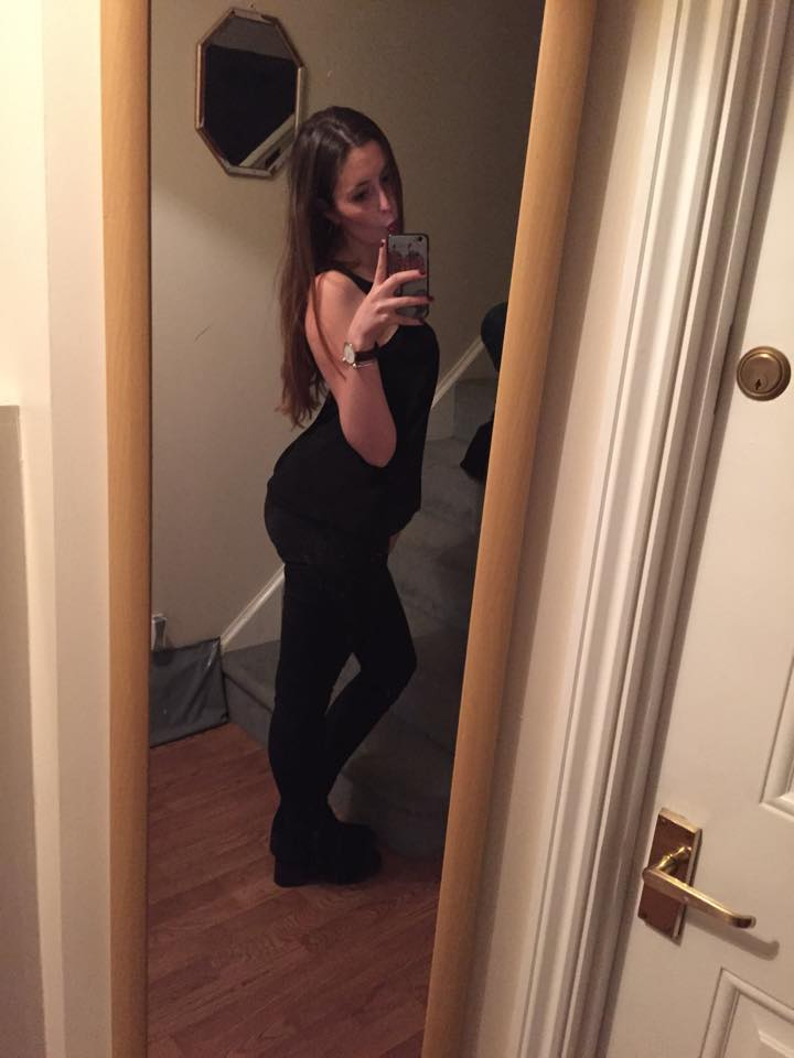 #outwiththegirlies #OOTN #allblackeverything