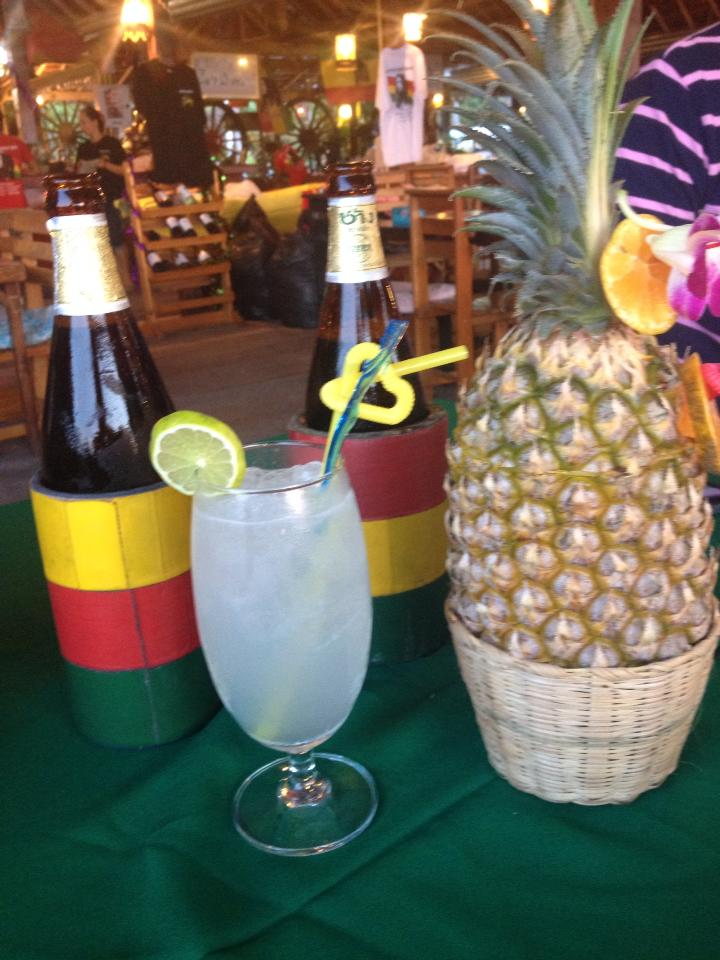 Try drinking out a pineapple, cocktails and national beers… doesn't get much more cultural then that?