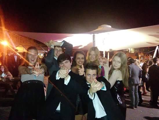 Last year's freshers enjoy indulging their inner James Bond