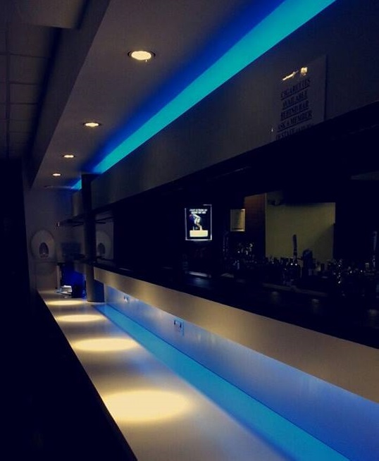 The SU bar (minus hundreds of half naked bodies all wanting VK)