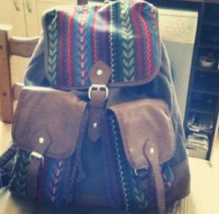 The backpack in question