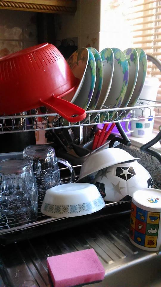 How to do washing up, in case you weren't sure