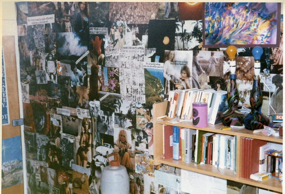 An example of how people would decorate their rooms
