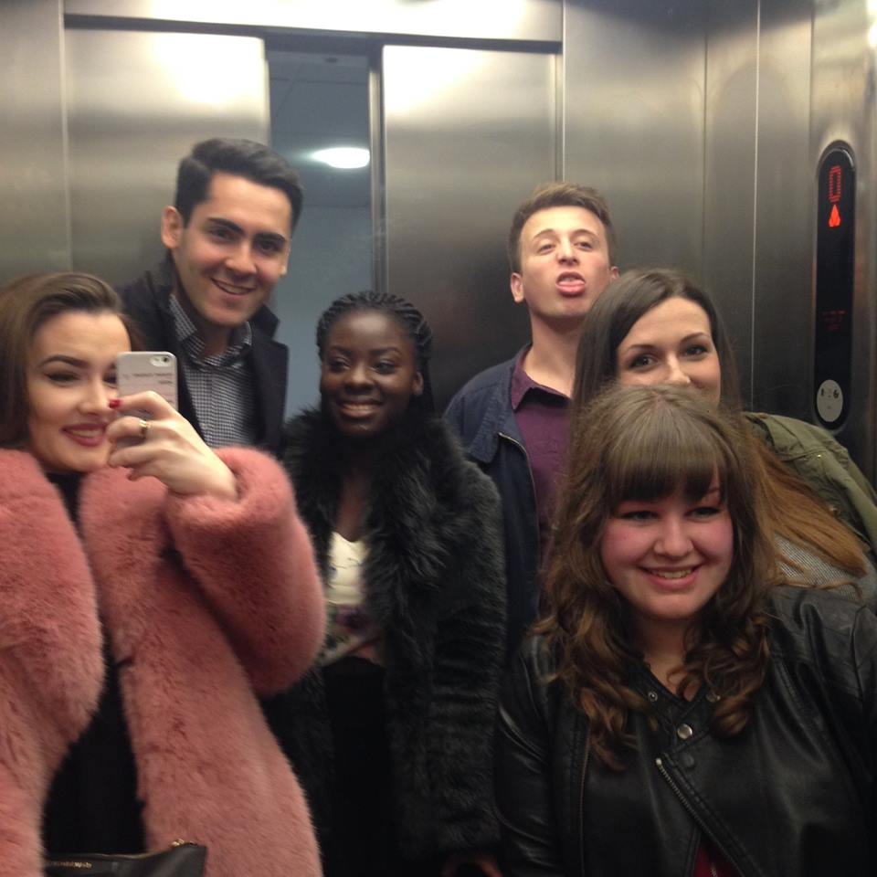 the lift will be where you take all your #squad selfies. mainly because it's the only place with a mirror big enough.