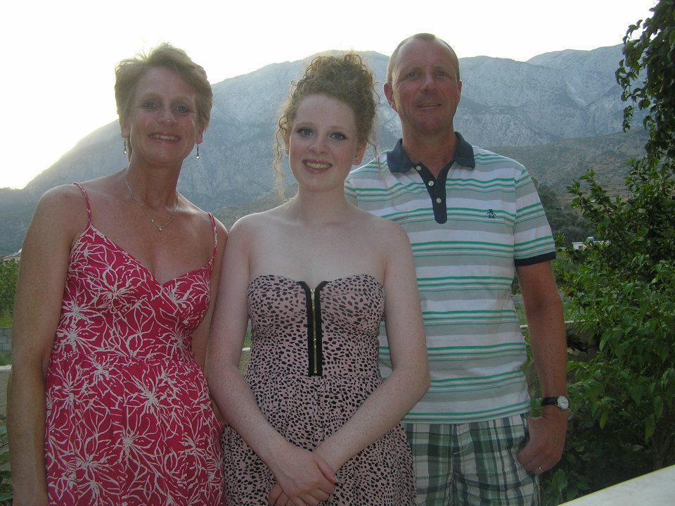 2 weeks in Greece and let's spot the ginger in the family.