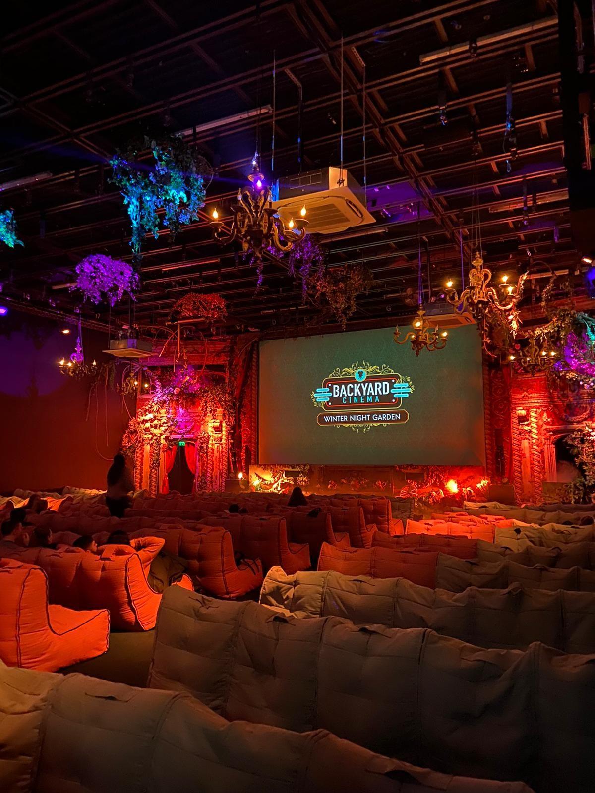 Image may contain: Ballroom, Stage, Theater, Hall, Auditorium, Lighting, Room, Indoors, Interior Design
