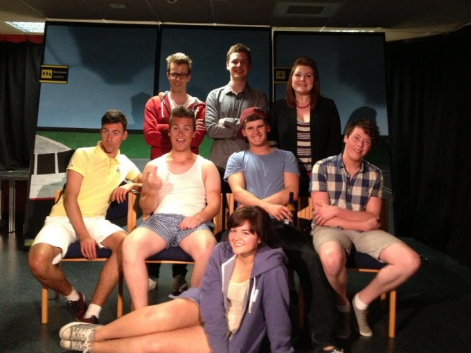 Cast, Producer - Andrew Greenhalgh, Director - Josh Day and Musical Director - Laura Phillips