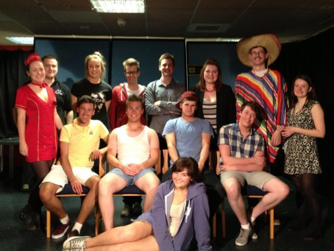 The entire cast and crew - some very talented people!