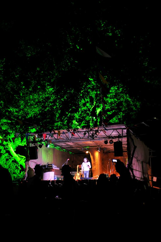 Magical performances on the tree house stage