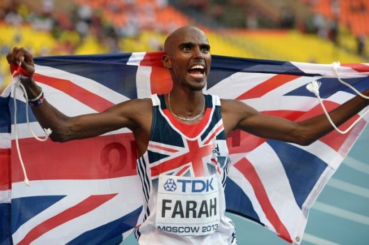 Will Farah be celebrating another victory?