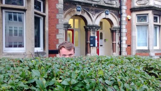 'Who dares enter my den?'
