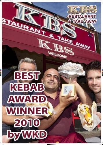 "Sorry Mama's - but KBS's ""award-winning""kebabs make the shortlist."