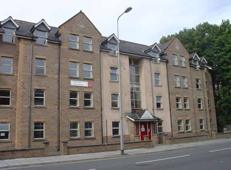 Colum Hall, one of Cardiff University's student accommodations.