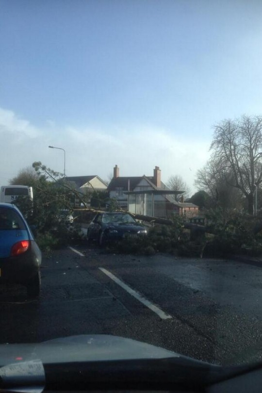 Another road blocked in Whitchurch