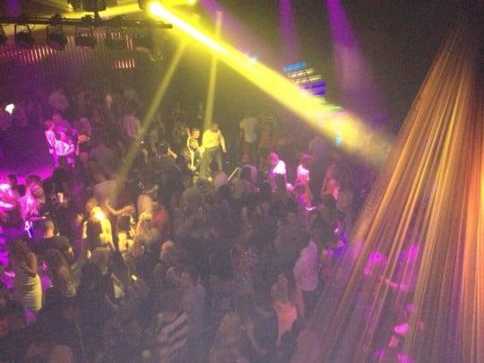 DC nightclub is a popular destination for Cardiff students