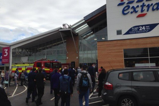 Tesco fire 1