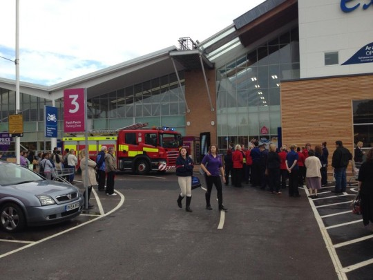 Tesco fire 2