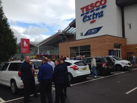 Tesco fire 3