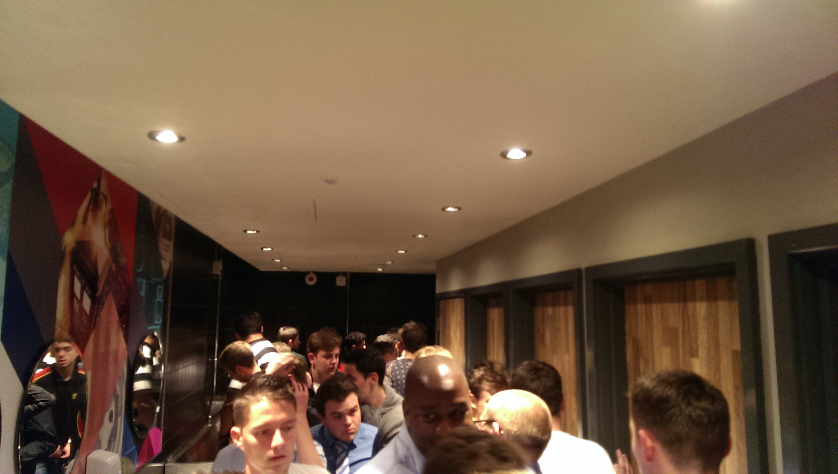 You're right. These are all of boys toilets. It would be weird if I, a man, would have gone into the other girls, no?