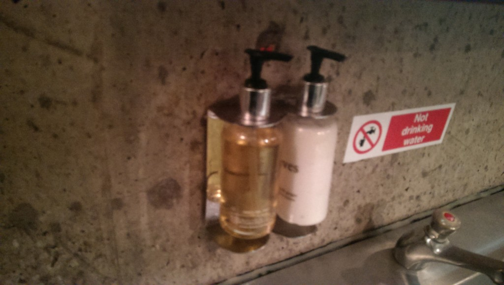 Why not wash off that foul smell with some lovely soap?