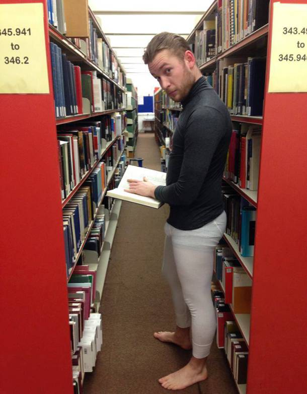 See, the library can be sexy.
