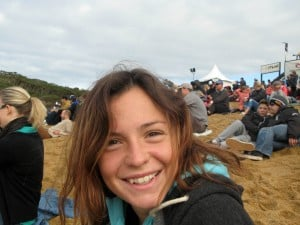 Inquest into the death of Georgie Ford 23, who was killed by a cliff rockfall was having a beach picnic to celebrate finishing her exams. Pictured here is Georgie Ford. © WALES NEWS SERVICE