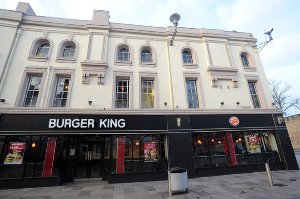 A completely normal Burger King