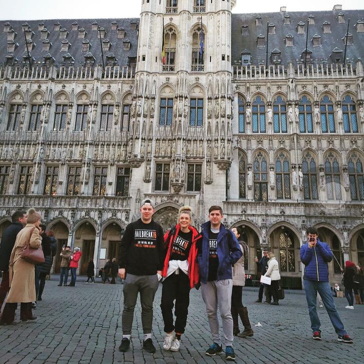 when in Brussels