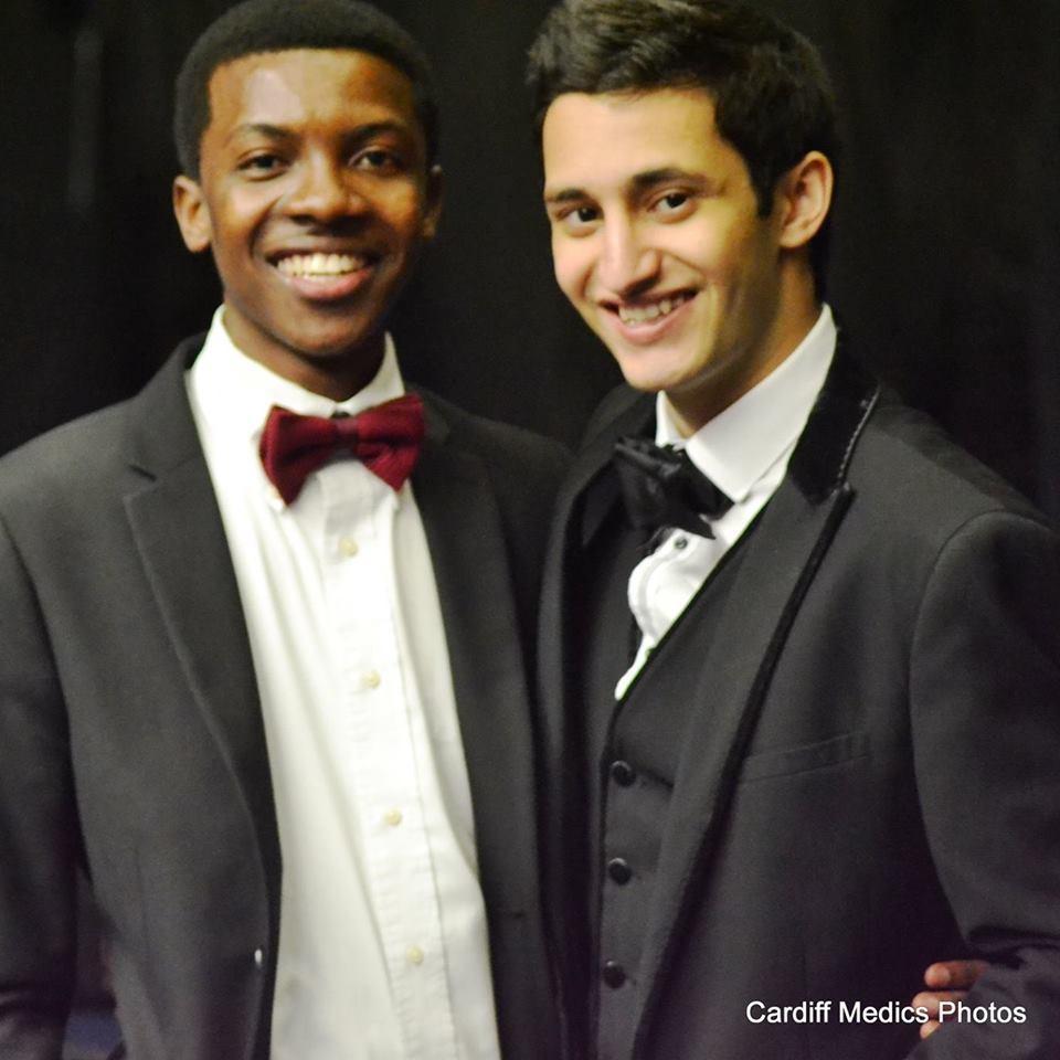 Roshan (right)