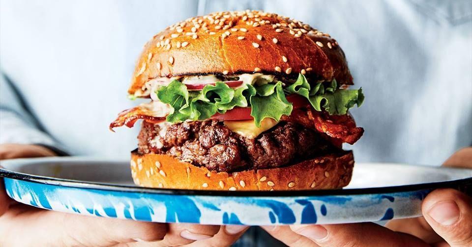 Image may contain: Food, Burger, Contact Lens
