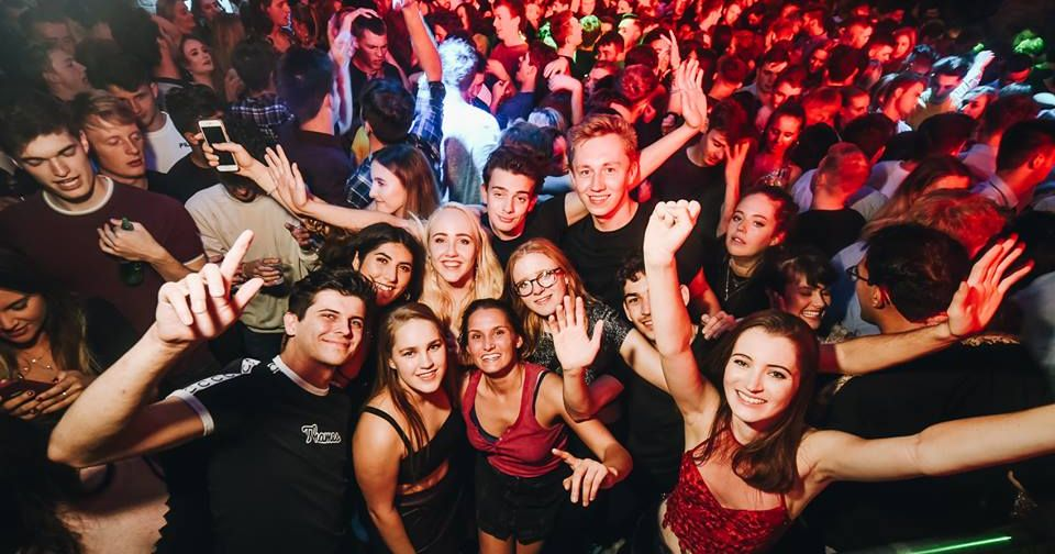 Image may contain: Night Life, Night Club, Club, Party, Crowd, Person, People, Human