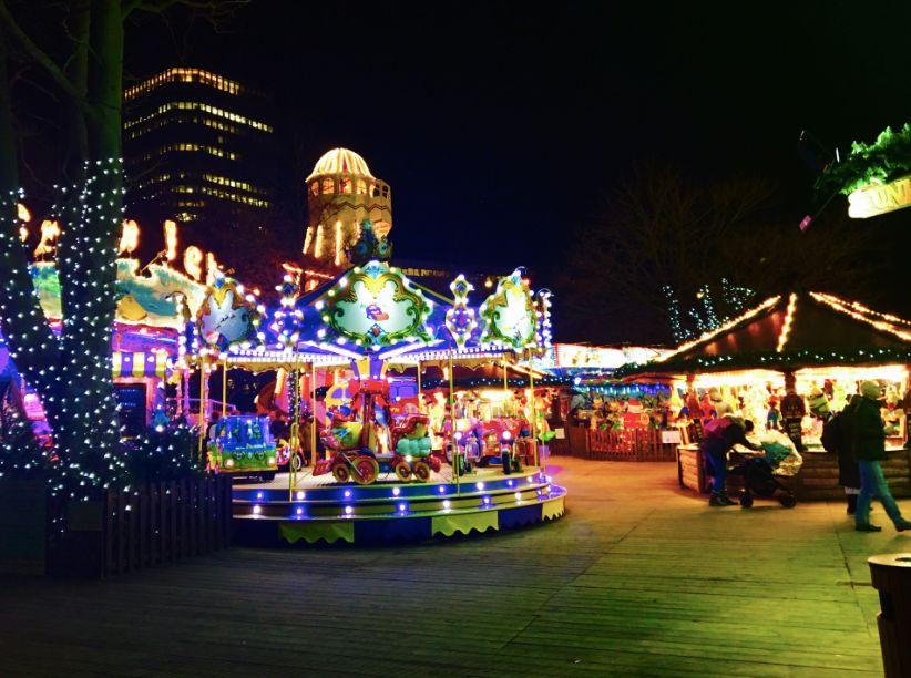 Image may contain: Amusement Park, Theme Park, Human, Person