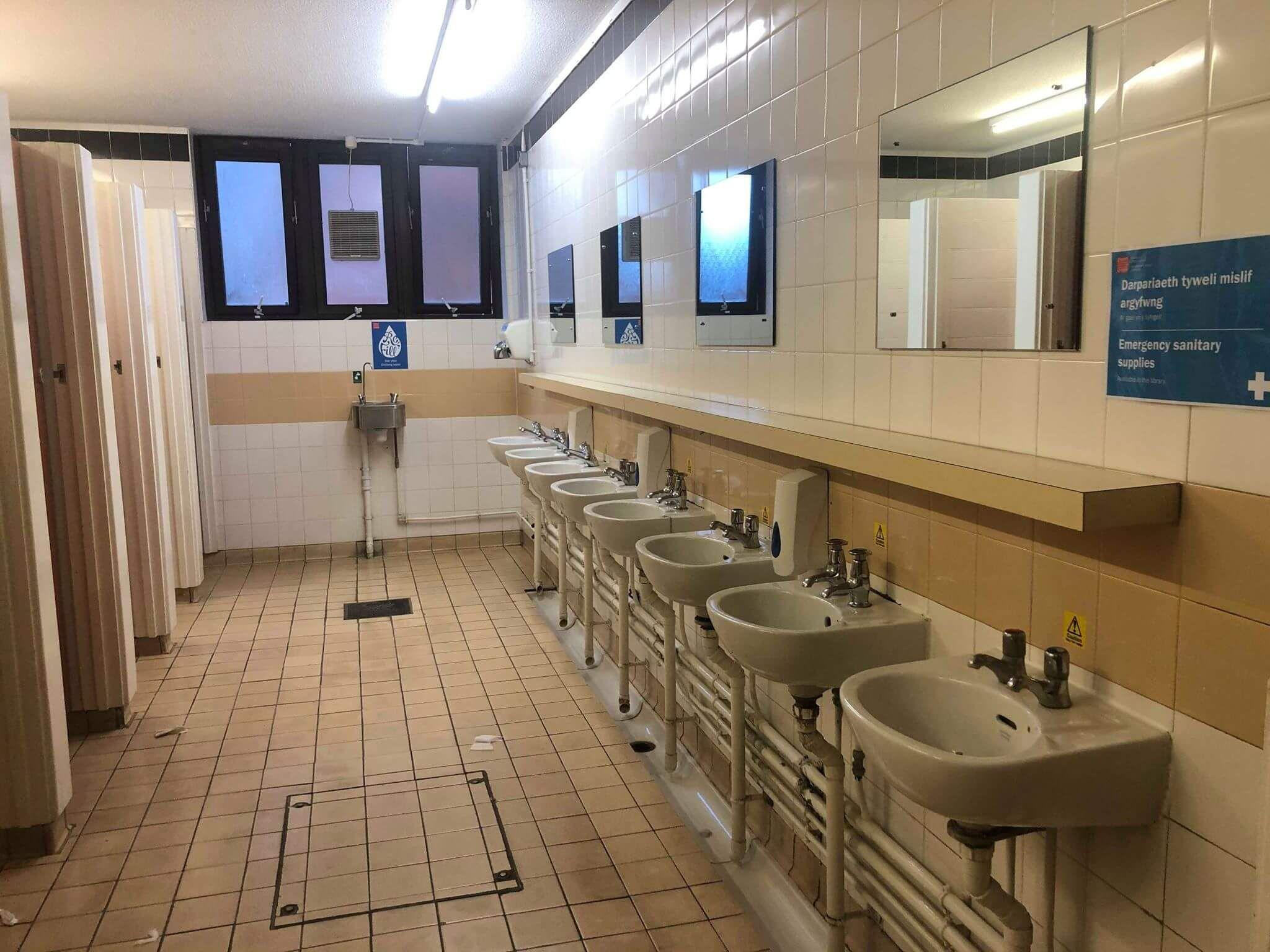 Image may contain: Indoors, Interior Design, Cafeteria, Restaurant, Floor, Flooring, Double Sink