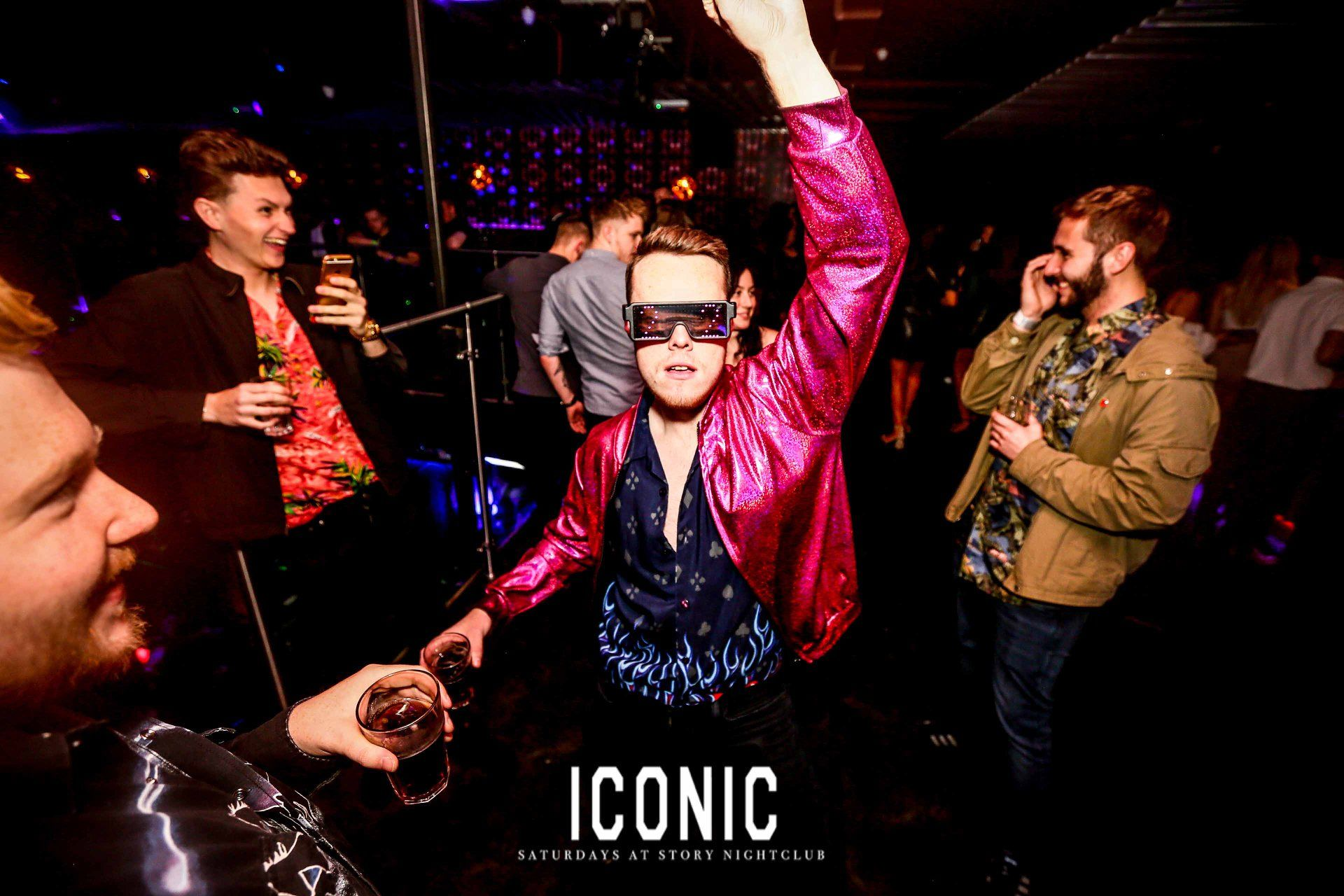 Image may contain: Leisure Activities, Paper, Brochure, Flyer, Advertisement, Poster, Musician, Musical Instrument, Night Club, Club, Sunglasses, Accessories, Accessory, Person, Human