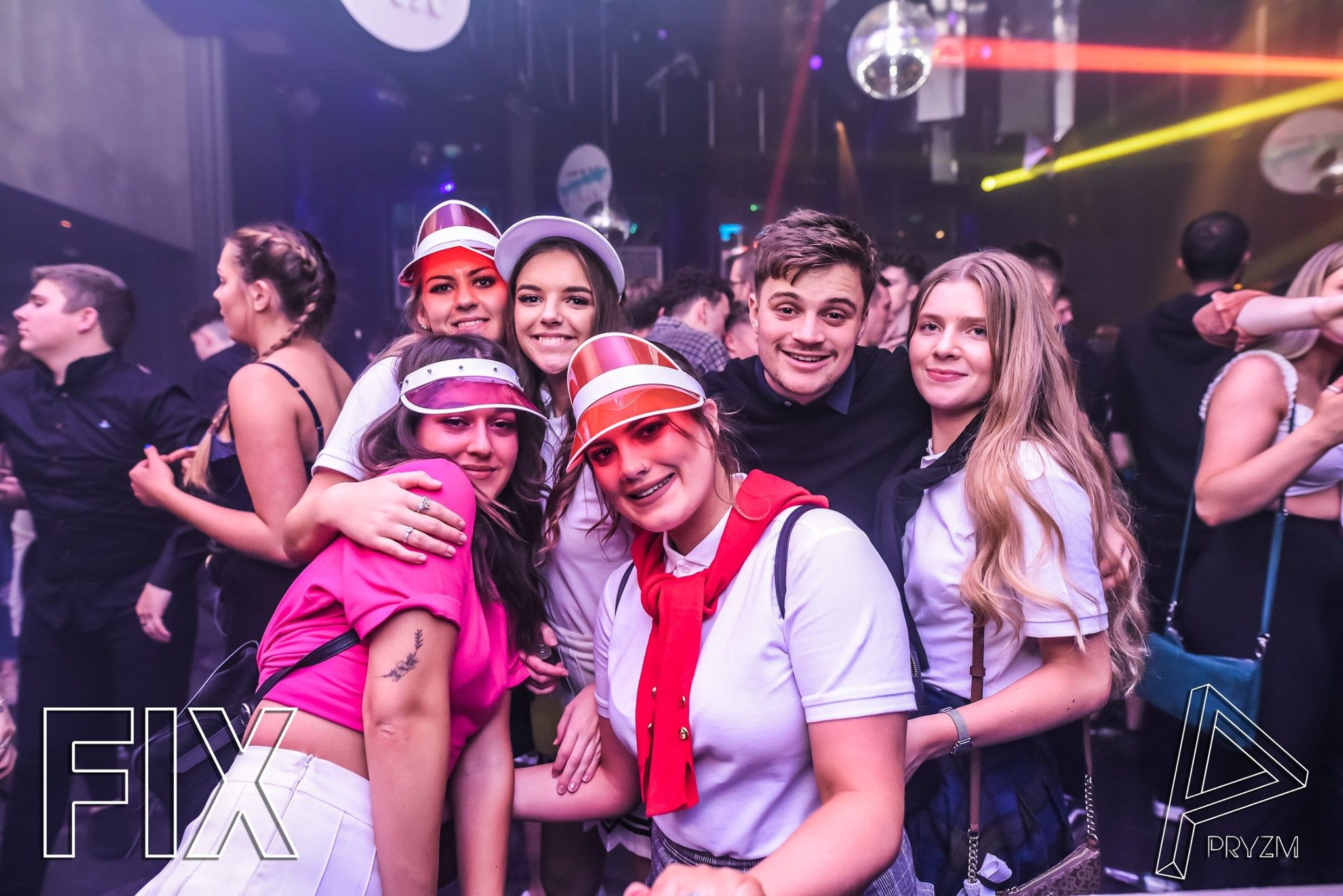 Image may contain: People, Leisure Activities, Accessories, Accessory, Sunglasses, Night Club, Club, Party, Night Life, Human, Person
