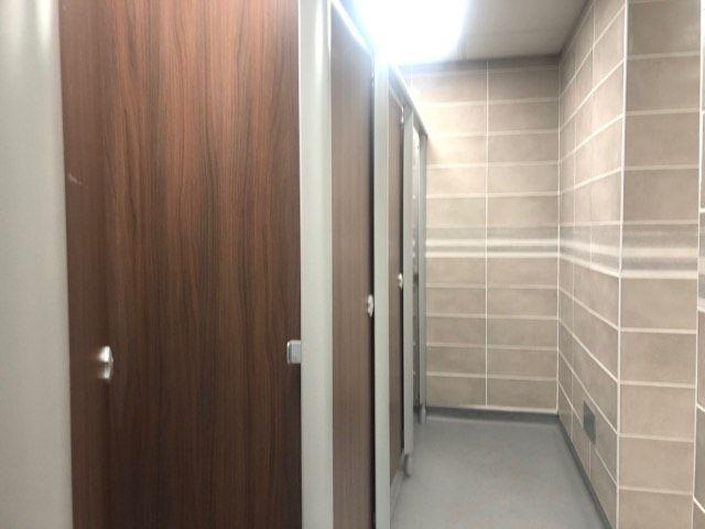Image may contain: Room, Furniture, Indoors, Door
